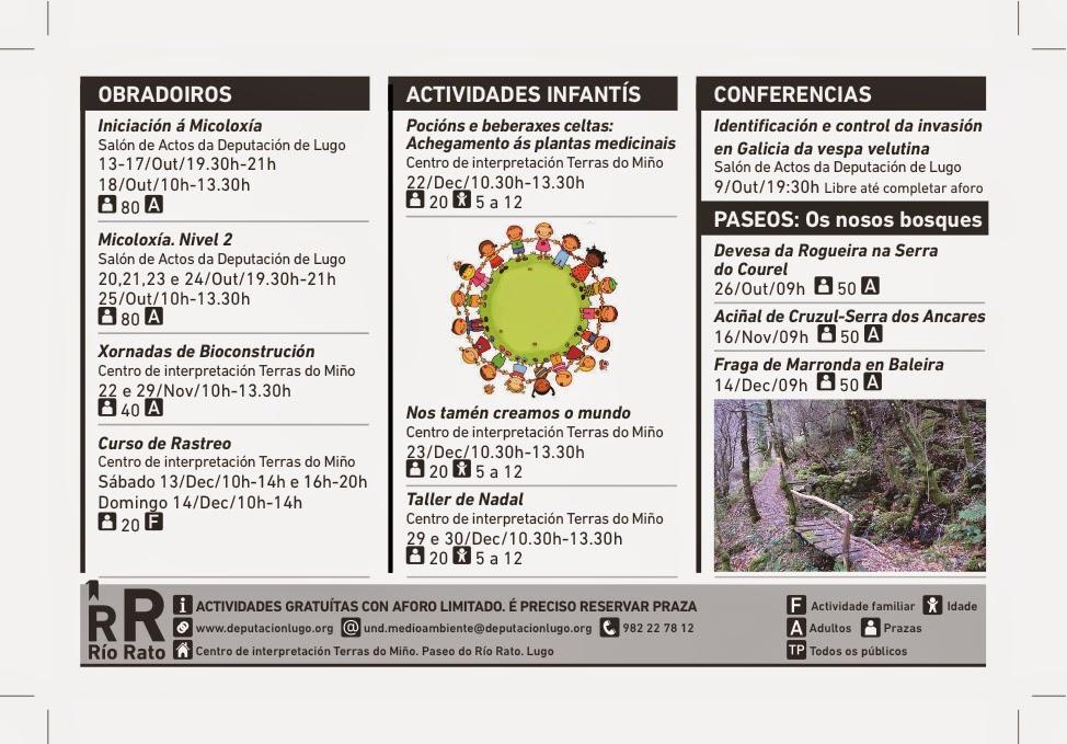 Huellas, rastros y señales: Curso de rastreo en diciembre en Lugo