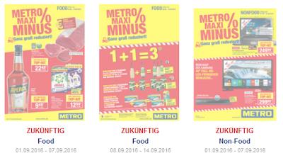 METRO prospekte-kataloge ab 25.08 / 01.09 2016