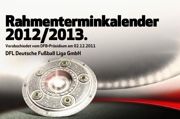 Calendario Bundesliga 2.Fora De Joc Calendario 1 Y 2 Bundesliga 2012 2013