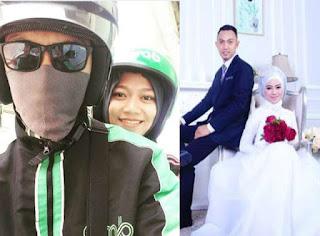 Driver Ojek Online ini Gak Nyangka kalau calon istrinya adalah Penumpang nya Sendiri