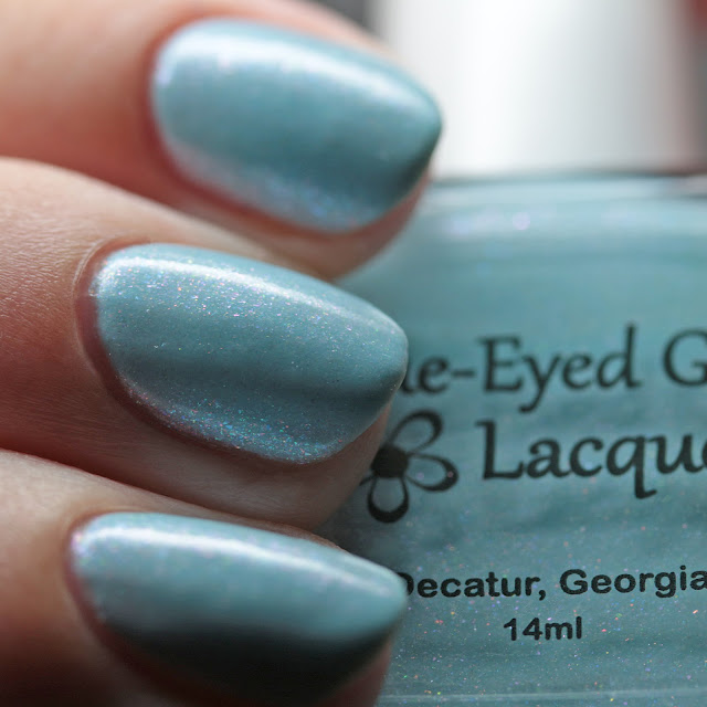 Blue-Eyed Girl Lacquer The Ancient Power