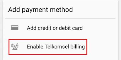 Cara Beli Aplikasi Menggunakan Pulsa Telkomsel