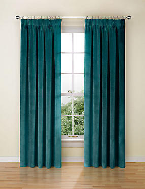 Hanging Curtains Above Windows And Sheers Around Bed At Ceiling Height From