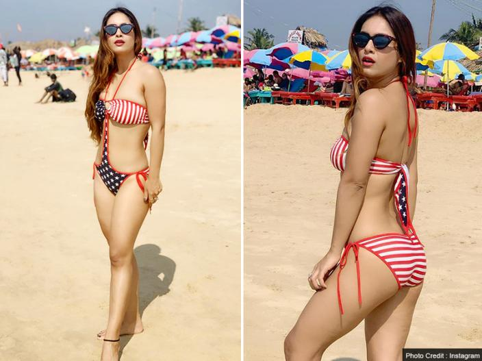 Neha Malik Hot and Bikini Photos