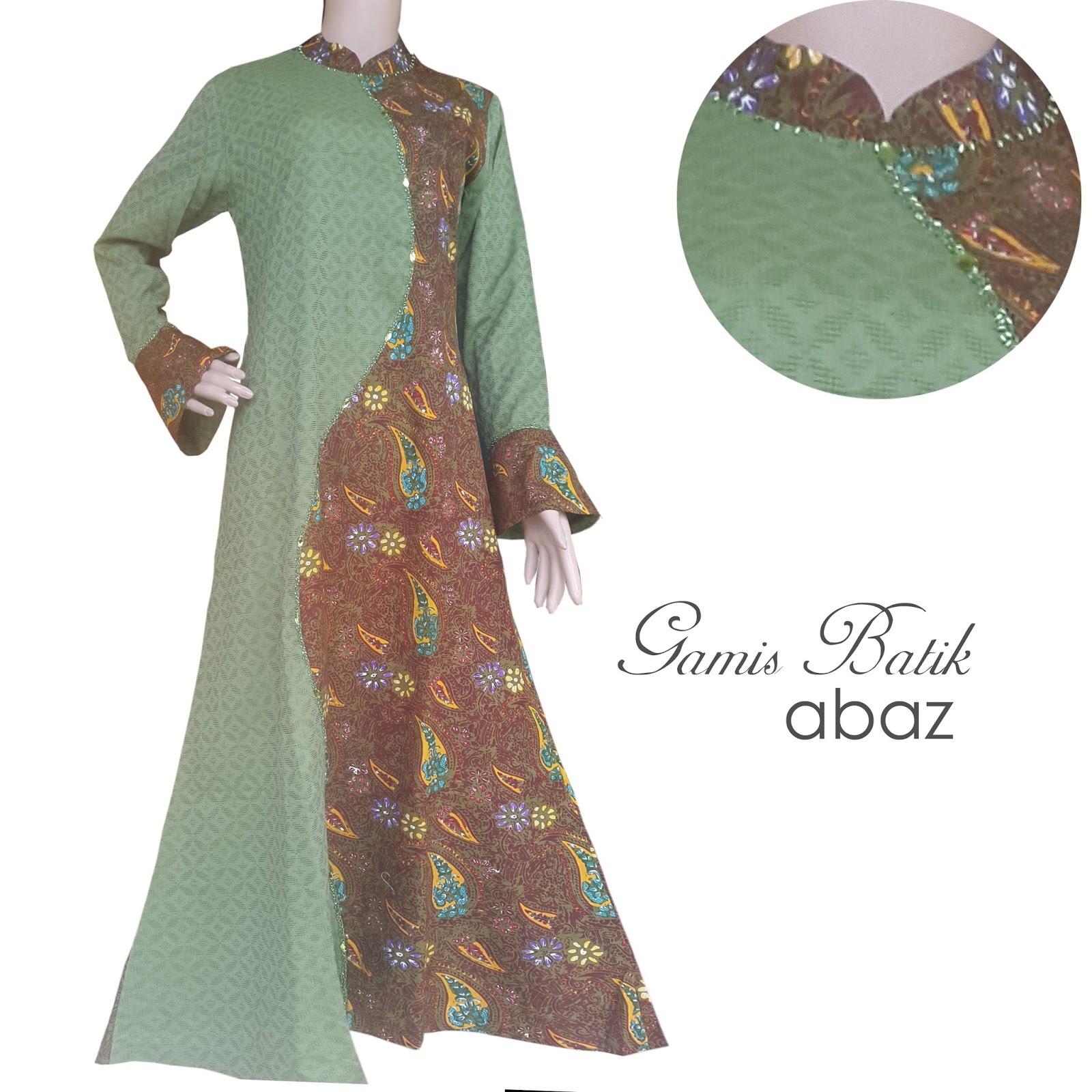 Gamis Batik Batik Garutan Baju Gamis Batik Garut
