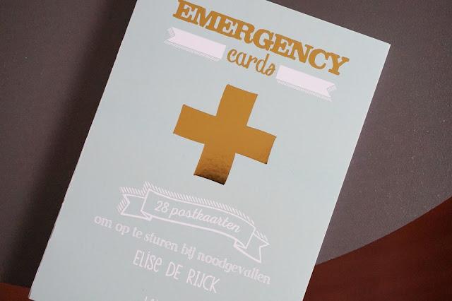 emergency cards 28 postkaarten voor noodgevallen