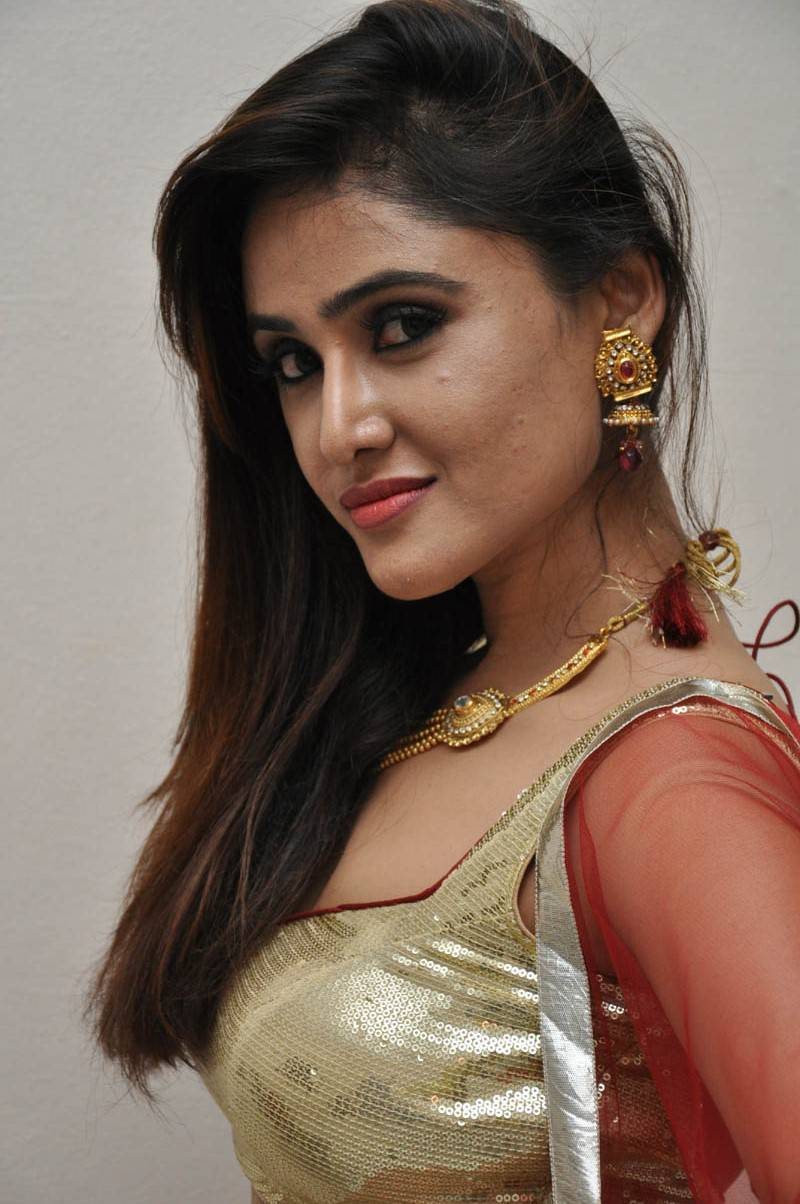 Telugu Heroines Sony Charishta Latest Hot Cleavage Spicy -1269