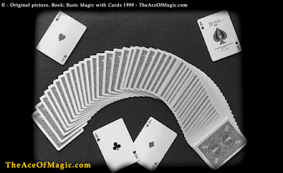 Deck of cards for magic tricks