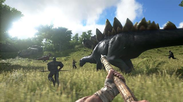 تحميل لعبة ark survival evolved برابط مباشر على الكمبيوتر