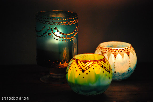 how to diy moroccan tea light candle holders candles recharge australia. Black Bedroom Furniture Sets. Home Design Ideas