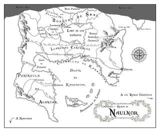 Mapa de Naulnor