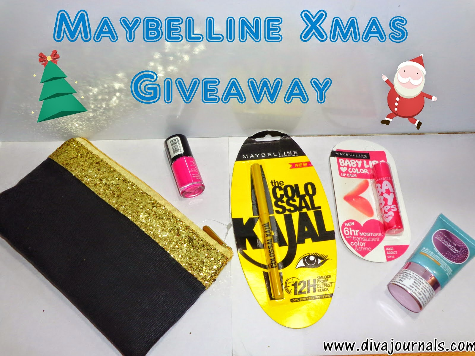 http://www.divajournals.com/2014/12/maybelline-xmas-giveaway.html