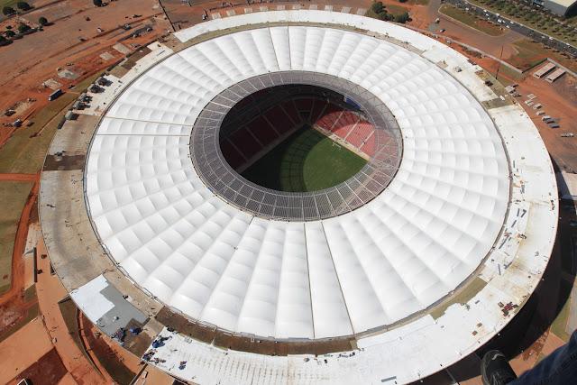 Fotos do estádio que receberá a abertura da Copa das Confederações 2013