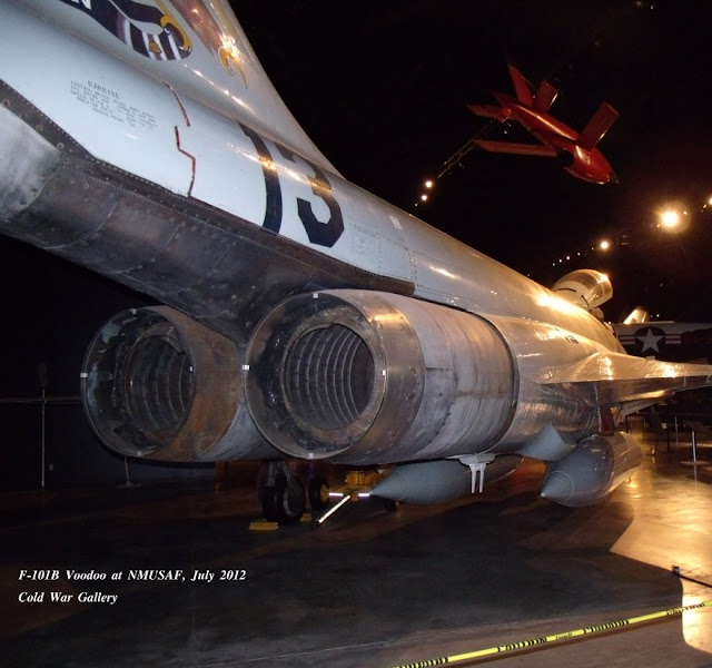 F-101B walk around exhaust detail