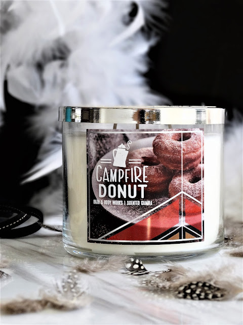 campfire donut bath & body works, avis campfire donut bath & body works, bougie campfire donut campfire donut bath & body works, campfire donut bath & body works candle review, avis bath & body works, bath & body works france, campfire donut candle review