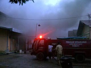 PLTD Suak Terbakar, Kabupaten Abdya Gelap