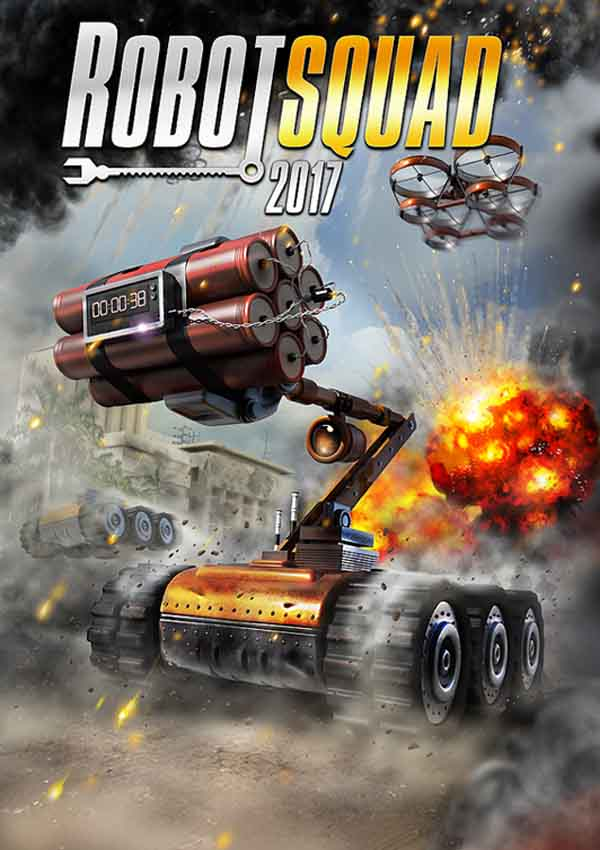 Robot Squad Simulator 2017 Download Cover Free Game