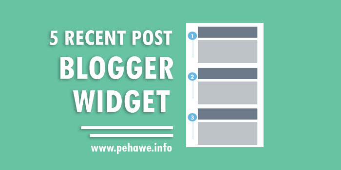 Kumpulan Recent Post Widget Keren Blogger