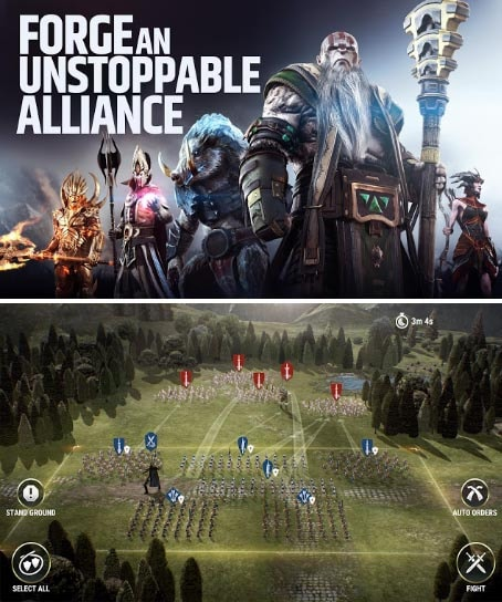 Dawn of Titans v1.14.0 Mod Apk + Data Terbaru (Unlimited Money)