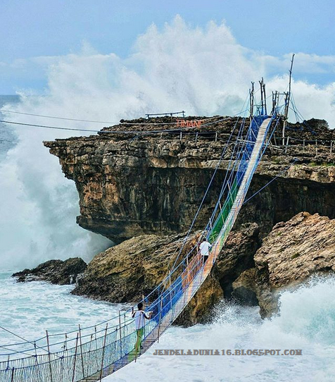 Jembatan Samudera Timang, Objek Wisata Unik Dan Extrem Di Yogyakarta