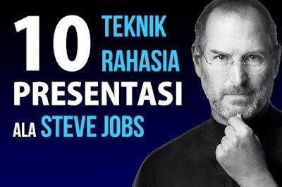 Cara Membuat presentasi yang berhasil ala Steve Jobs