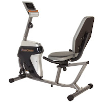 Fitness Reality R4000 Recumbent Bike, entry-level recumbent exercise bike with 14 magnetic resistance levels, wide screen LCD monitor, large adjustable seat with cushioned backrest