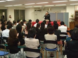 三遊亭楽春講演会「落語に学ぶ顧客満足CS向上講演会」