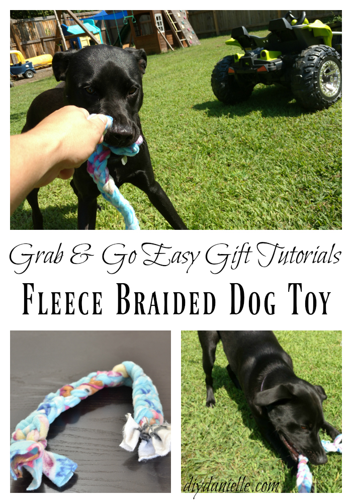Easy Dog Toy DIY