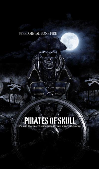 Speed Metal Bone Fire Pirate of skull 2