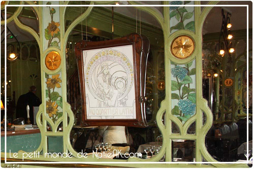 décoration Art Nouveau  Bouillon Racine