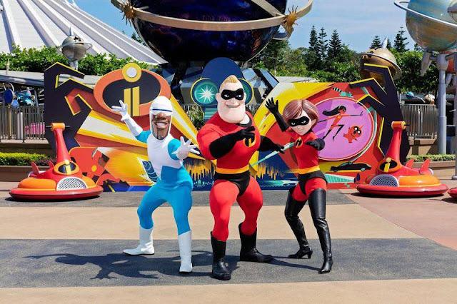 放玩奇妙當夏香港迪士尼樂園度假區香港居民樂園門票優惠超人特工隊 Hong Kong Disneyland Resort Summer Chill-pixar The incredibles Re-imagined Meet and Greets