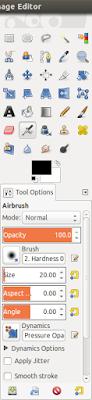 GIMP image editor on ubuntu