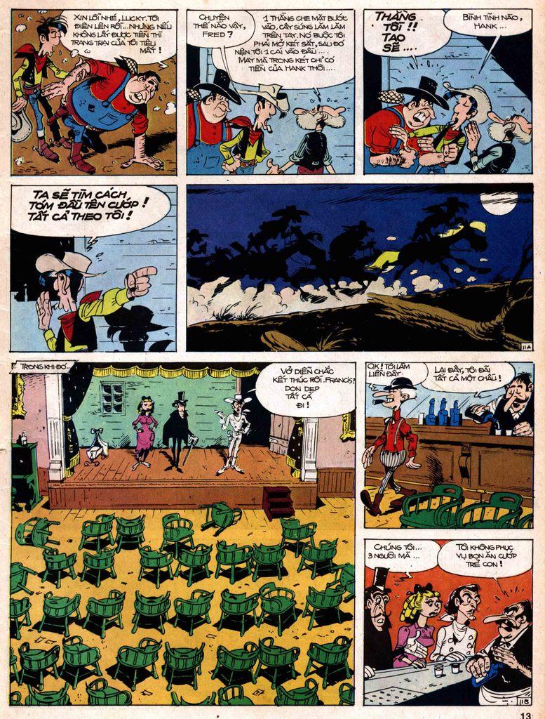 Lucky Luke tap 18 - ki si ao trang trang 11