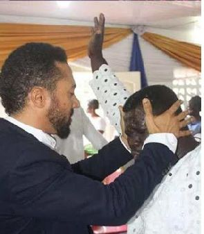Majid Michel in Cameroon for a 'Crusade'