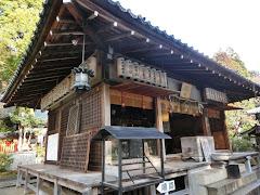 赤山禅院:拝殿