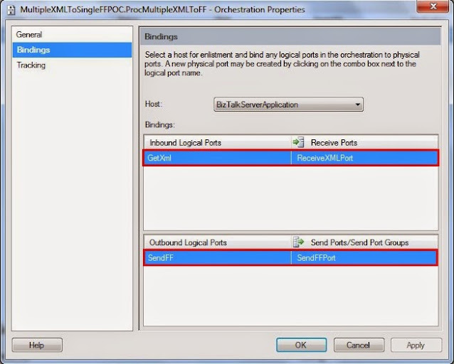 configuring orchestration