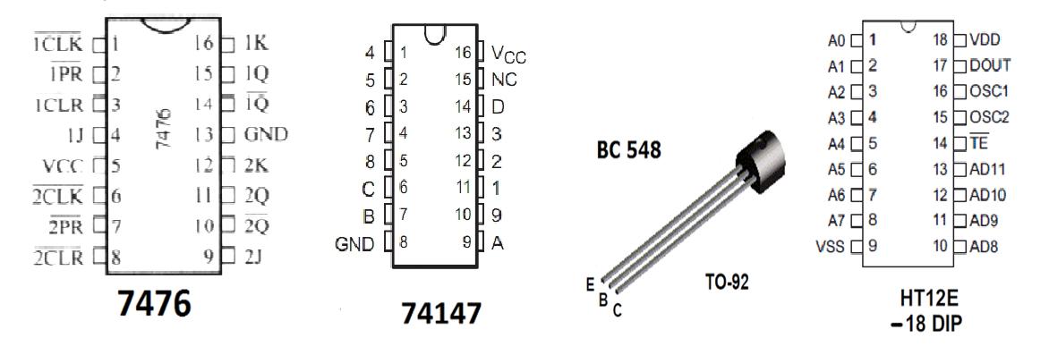 Multi Channel Remote Control Electronics Circuits
