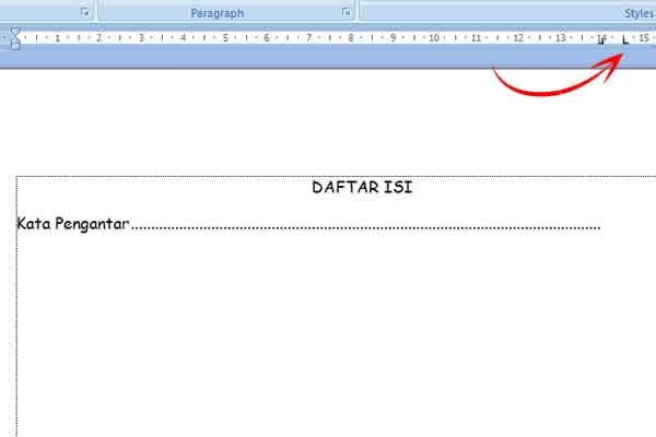 Cara Membuat Daftar Isi di Microsoft Word