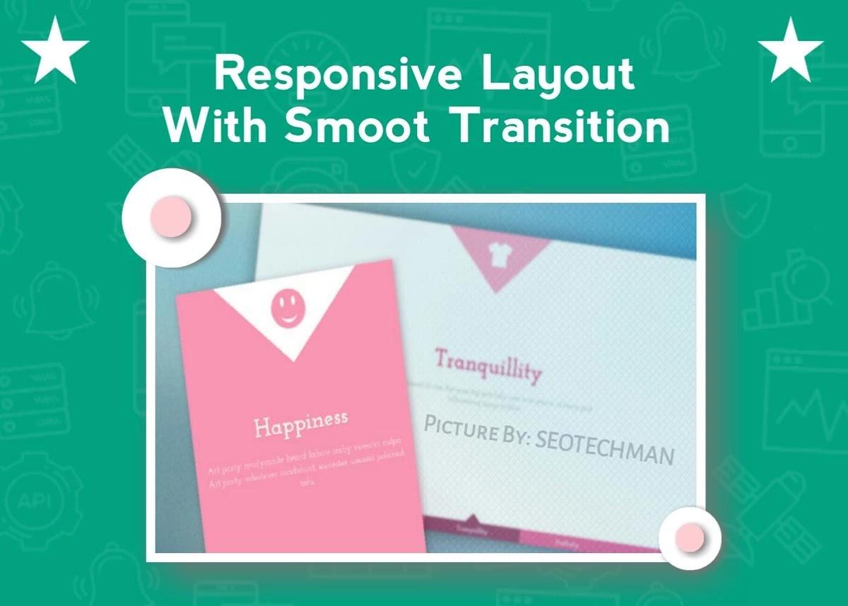 [Tutorial] Cara Membuat Responsive Layout Dengan Efek Transition Pure Css