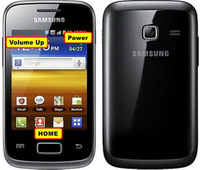 Cara Reset Samsung Galaxy young Duos S6102 Bootloop