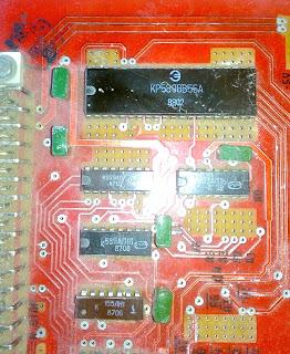 Микросхема программируемого параллельного интерфейса КР580ИК55 (INTEL 8055)