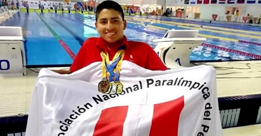 RODRIGO SANTILLÁN CRUZ: Conoce al deportista peruano más joven de los Parapanamericanos