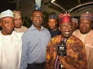 Tinubu Ekweremadu in Lagos meeting