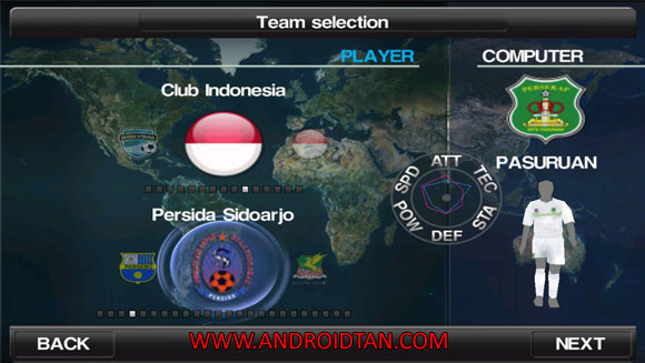 Winning Eleven 2012 + Klub Liga Indonesia (Update Transfer 2016/17)