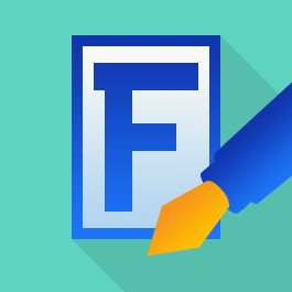 fontcreator flat icon