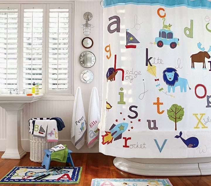 Astonishing Kids Bathroom Decor