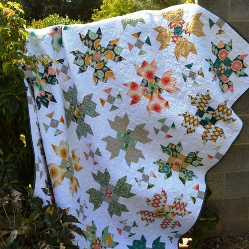 Florabelle Bloom Quilt - Tutorial