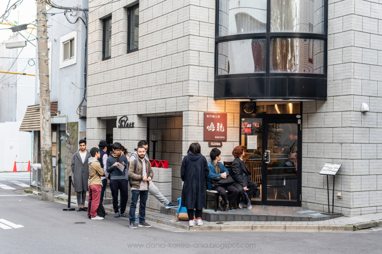 Nakiryu ramen Tokio japonia
