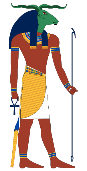 Khnum, an Ancient Egyptian God