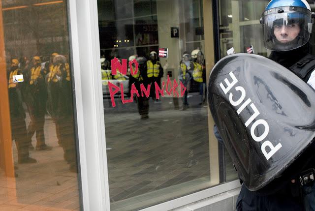 Manifestation contre le plan nord, Montréal, 20 avril 2012 [photos David Champagne]